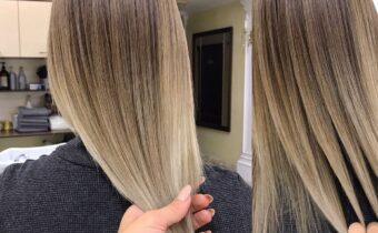 Окрашивание волос в технике Airtouh 2021 года