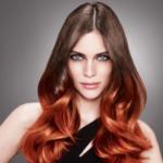 Модное окрашивание волос в два цвета 2021