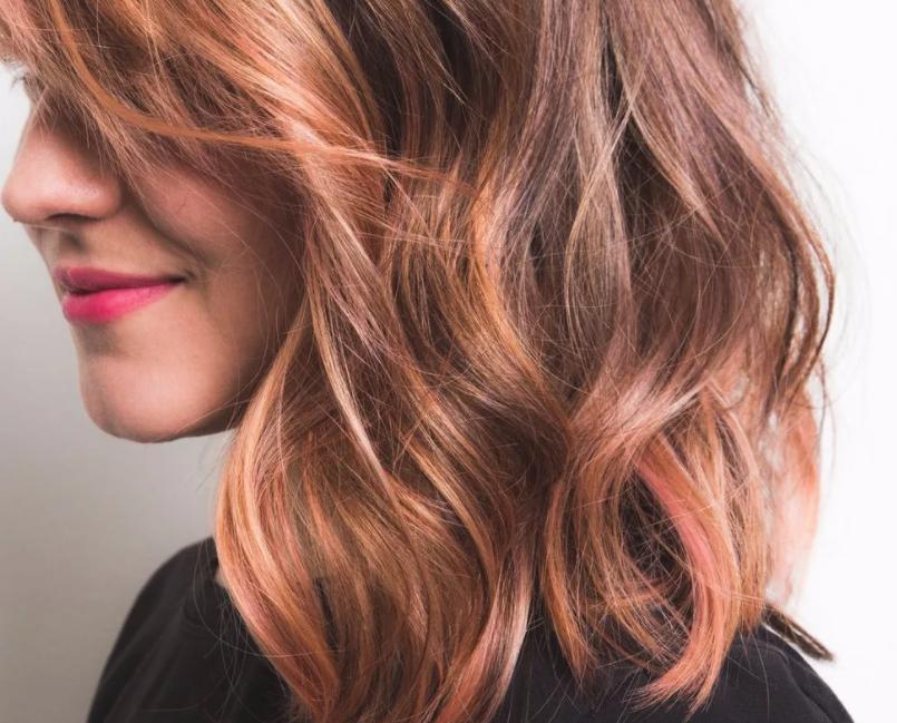 Модное колорирование волос 2021
