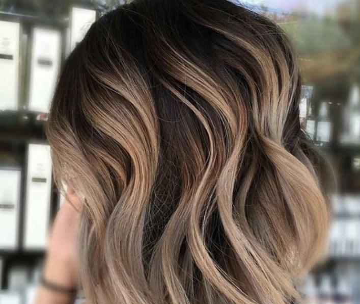 Окрашивание для волос разной длины
