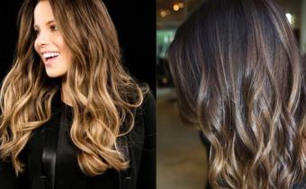 Окрашивание волос шатуш на темные волосы 2021