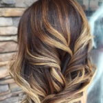 Модное окрашивание волос тигровый глаз 2021