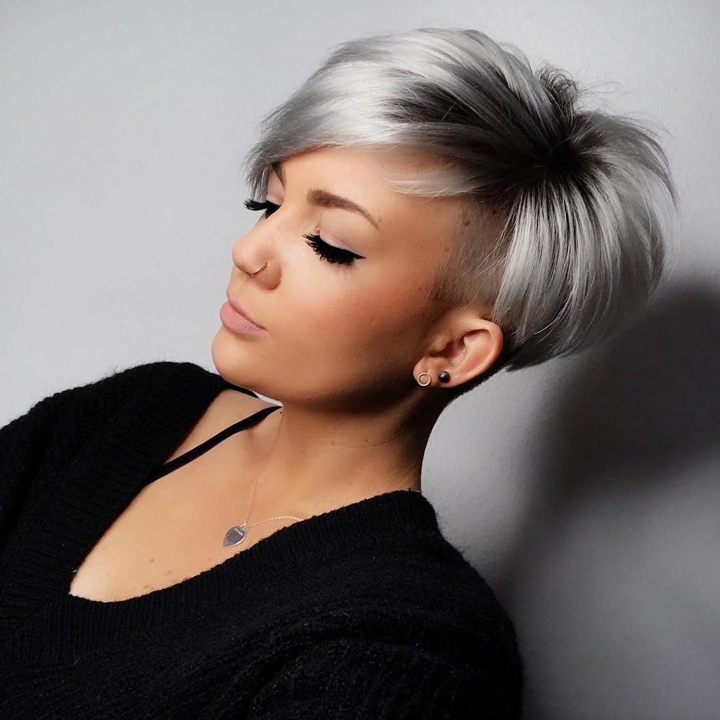 Окрашивание волос 2021 на короткие волосы